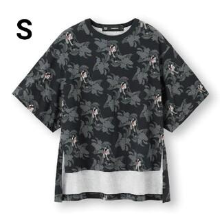 ジーユー(GU)のGU × UNDERCOVER  スリットチュニックT (Tシャツ(半袖/袖なし))