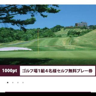 ひろゴールさん専用 シャトレーゼゴルフ  無料券 4名様まで(ゴルフ場)