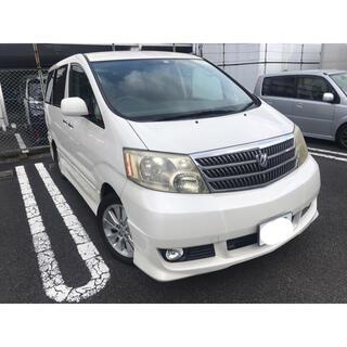 トヨタ - トヨタアルファードG AS 7人乗りパールホワイト車検令和4年9月神奈川県より