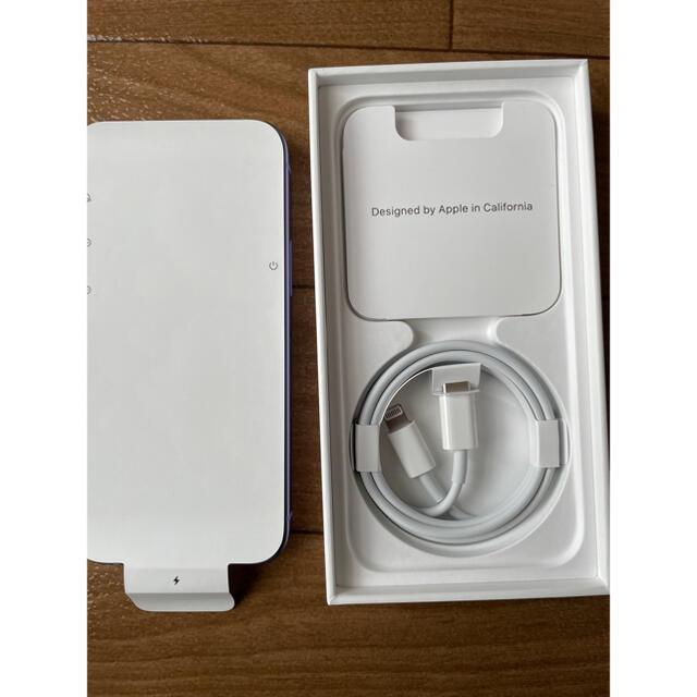Apple(アップル)のApple iPhone12 mini 64GB パープル SIMフリー未使用品 スマホ/家電/カメラのスマートフォン/携帯電話(スマートフォン本体)の商品写真