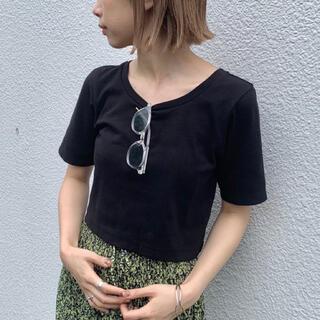 Kastane - Kastane ショート丈Tシャツ
