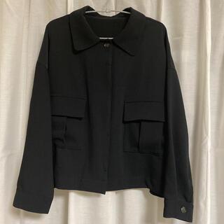 アズノウアズ(AS KNOW AS)のアズノウアズ ブラック シャツ ジャケット(その他)