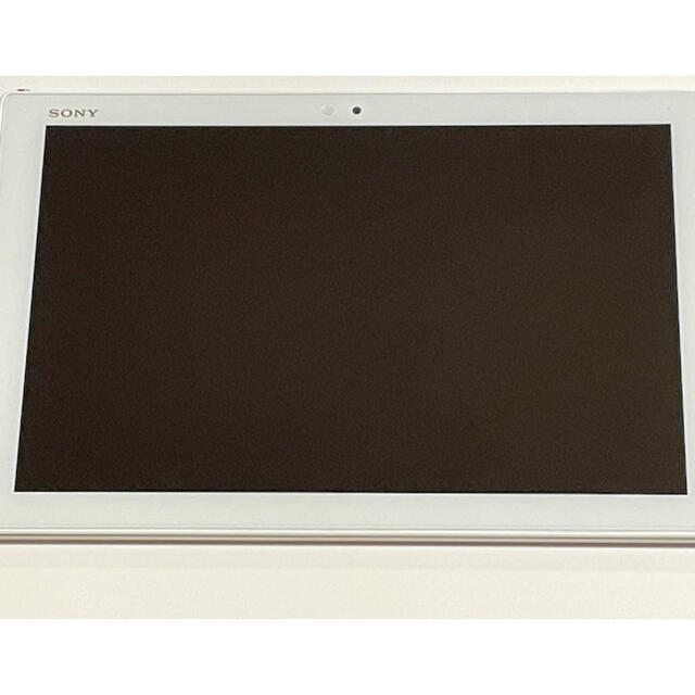 Xperia(エクスペリア)のSONY Xperia Z4 Tablet SO-05G White スマホ/家電/カメラのPC/タブレット(タブレット)の商品写真