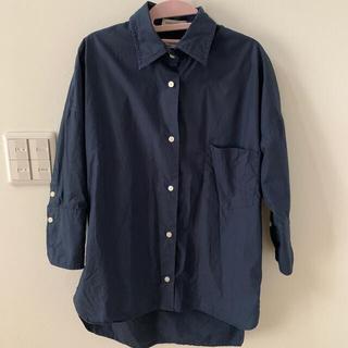 MADISONBLUE - マディソンブルー カフシャツ  カフスシャツ ネイビー  01