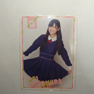 エイチケーティーフォーティーエイト(HKT48)の本村碧唯(HKT48) ポケットスクールカレンダー 「CD (アイドルグッズ)