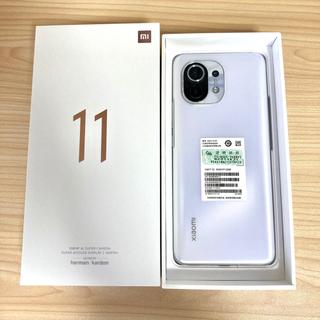 ANDROID - Xiaomi Mi11ホワイト中国版RAM8GB ROM256GB
