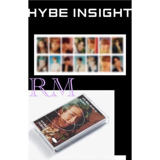 HYBE INSIGHT 公式商品 Photocard BTS ナムジュントレカ(アイドルグッズ)
