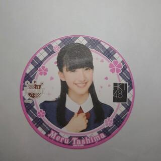 エイチケーティーフォーティーエイト(HKT48)の田島芽瑠HKT48) コースター 「桜、みんなで食べた」 (アイドルグッズ)