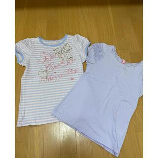 メゾピアノ(mezzo piano)の150 メゾピアノ  Tシャツ2枚セット (Tシャツ/カットソー)