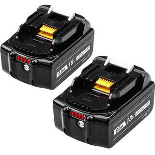 【人気商品】互換品マキタ 18v バッテリーPSE取得済み 2個セット(工具)
