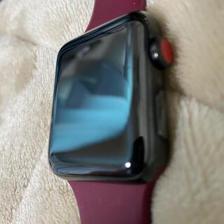 Apple Watch - Apple Watch series3  42mm セラミックブラック GPS