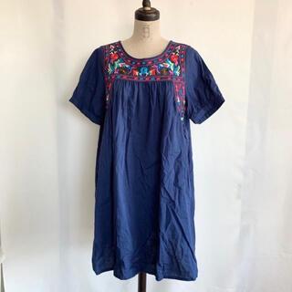 Lochie - USED 古着 刺繍ワンピース