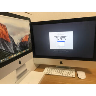 Mac (Apple) - iMac 4K Retina 21.5インチ 2015 1TB Apple