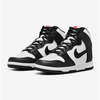 NIKE - NIKE WMNS DUNK HIGH WHITE/BLACK 22cm