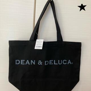 ディーンアンドデルーカ(DEAN & DELUCA)の即日発送 新品/タグ付き DEAN&DELUCAトートバック ブラックM(トートバッグ)
