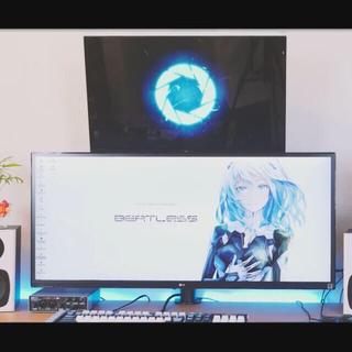 エルジーエレクトロニクス(LG Electronics)のウルトラワイドモニター(ディスプレイ)