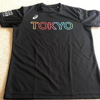 アシックス(asics)のアシックス東京マラソン2018限定Tシャツ 値下げしました!(Tシャツ/カットソー(半袖/袖なし))