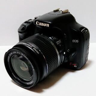 Canon - 美品 CANON EOS KISS X2 デジタル一眼レフカメラ + 標準レンズ