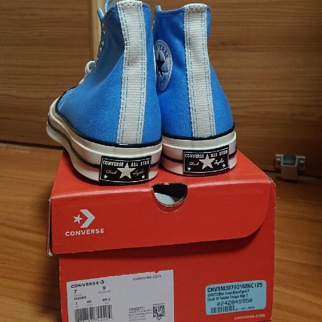 CONVERSE(コンバース)のct70 チャックテイラー ブルー メンズの靴/シューズ(スニーカー)の商品写真