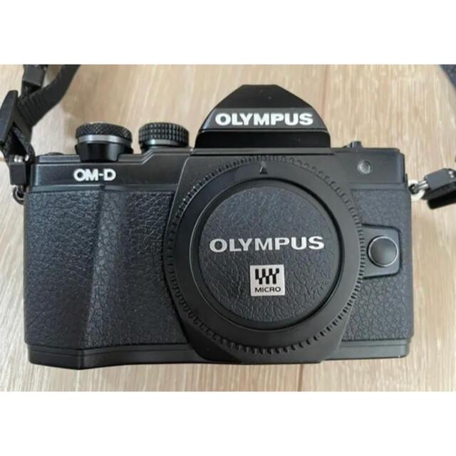 OLYMPUS(オリンパス)のオリンパス ミラーレス OM-D E-M10 MarkⅡレンズ付き スマホ/家電/カメラのカメラ(ミラーレス一眼)の商品写真