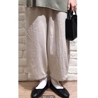 サマンサモスモス(SM2)のいちごさま専用♪新品*裾タックパンツ*サマンサモスモス(カジュアルパンツ)