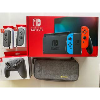 Nintendo Switch - Nintendo Switch 本体128gカード付き おまけ色々