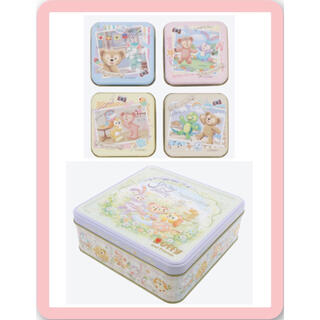 ディズニー(Disney)のダッフィー スプリング インブルーム  お菓子2点セット(菓子/デザート)