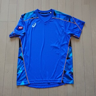 asics - アシックス 卓球 ユニフォーム ゲームシャツ