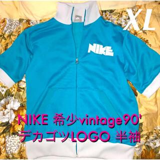 NIKE - 超貴重‼️ NIKE 希少vintage90' デカゴツLOGO 半袖XL