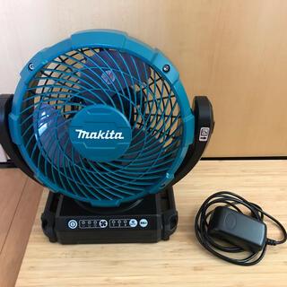 マキタ(Makita)のgh0216様専用! マキタ 充電式ファン CF102DZ 本体・ACアダプター(扇風機)