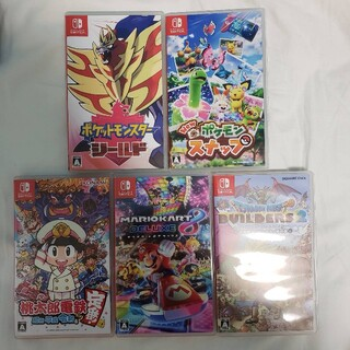 Nintendo Switch - 任天堂スイッチ ソフト5本セット