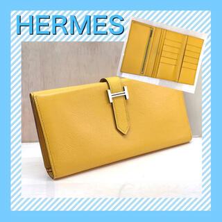 Hermes - 【希少な三つ折り】HERMES 財布/ベアン 長財布
