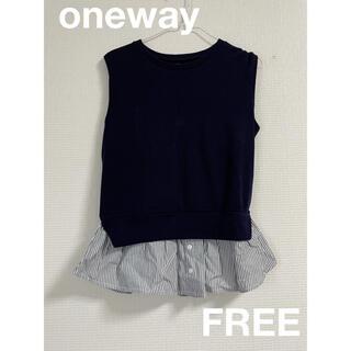 ワンウェイ(one*way)のoneway  ワンウェイ FREE ニット ブラウス(ニット/セーター)