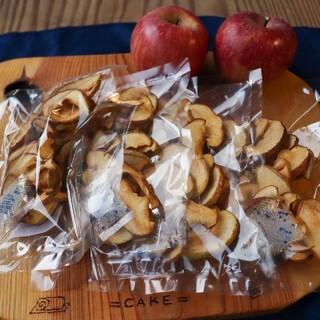 信州産 りんごチップス40g×4袋 無添加の甘いドライフルーツ