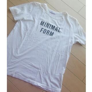 ザラ(ZARA)のZARA ロゴTシャツ 白Tシャツ(Tシャツ/カットソー(半袖/袖なし))