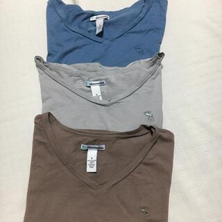 アバクロンビーアンドフィッチ(Abercrombie&Fitch)のアバクロ Abercrombie ロゴTシャツセット(ガールズL)(Tシャツ/カットソー)