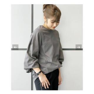 L'Appartement DEUXIEME CLASSE - 値下げ新品タグ付きAP STUDIO PREタックスリーブロングTシャツ