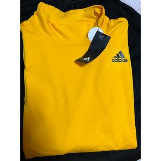 アディダス(adidas)のアディダス  ハイネック ロングスリーブ Tシャツ(Tシャツ/カットソー(七分/長袖))