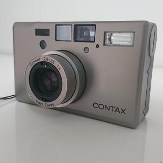 京セラ - Contax T3D データバック ストラップ ケース付