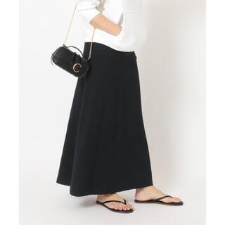 DEUXIEME CLASSE - Deuxieme Classe ツイカ Jersey フレアスカート ブラック
