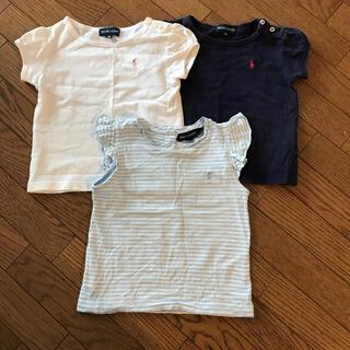 ラルフローレン(Ralph Lauren)の90 ラルフローレン トップス 3着セット(Tシャツ/カットソー)