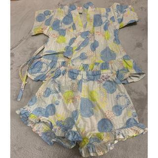 エフオーキッズ(F.O.KIDS)のアプレレクール 甚平 女の子 100(甚平/浴衣)