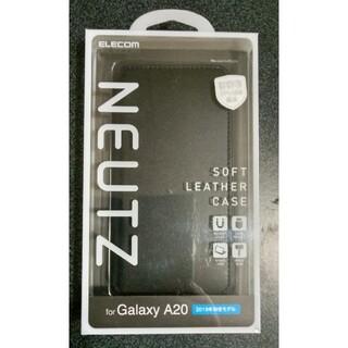 エレコム(ELECOM)の新品・未開封 Galaxy A20用 スマホケース手帳型(モバイルケース/カバー)