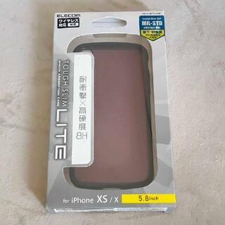 エレコム(ELECOM)のELECOM PM-A18BTSLCBK(iPhoneケース)