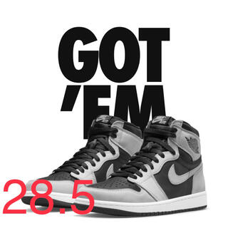 NIKE - NIKE AIR JORDAN 1 HIGH OG SHADOW 2.0