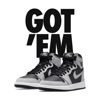 NIKE - AIR JORDAN 1 HIGH OG SHADOW 2.0 22.5cm