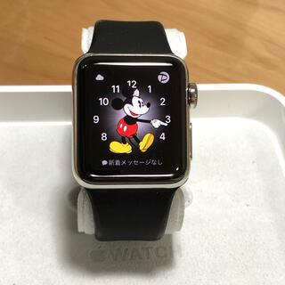 Apple Watch - 美品 Apple Watch series 2 ステンレススチール 38mm