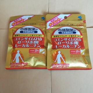 小林製薬 - 小林製薬 コエンザイムQ10 α-リポ酸L-カルニチン30日分×2袋
