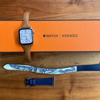 Apple Watch - AppleWatch HERMES series5 40mm ガラスコーティング