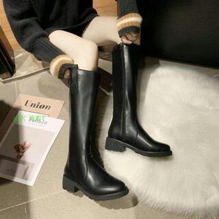 ロングブーツ、ショートブーツ、高品質ブーツ黒のブーツ感が高い,ブーツ.(長靴/レインシューズ)